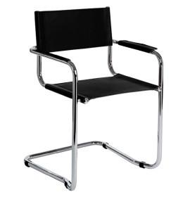 Sedia a slitta per ufficio e sale conferenza