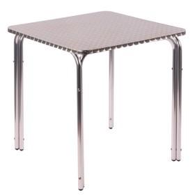 Tavoli In Plastica Impilabili.Tavolo Da Esterno Impilabile In Alluminio Irena 77