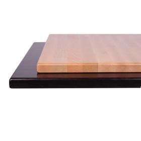 Piano Tavolo In Legno Massello Di Faggio Spessore 30 Mm