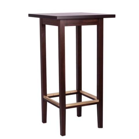 Tavolo alto bar in legno belluno 77 70x70cm h110