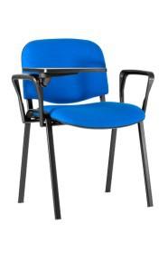 Sedia da conferenza con braccioli e tavoletta scrittoio ISO SEMINAR