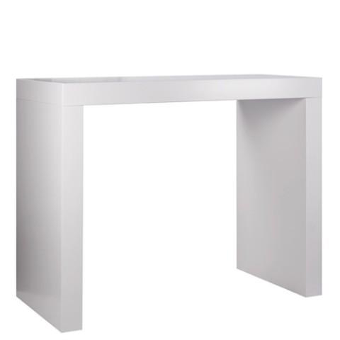 tavolo alto in legno ponte in mdf laccato varie dimensioni