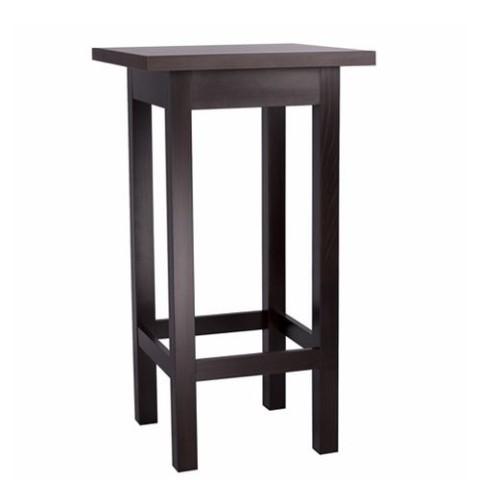 Tavolo alto in legno da bar belinda 66 77 60x60 o 70x70cm - Tavolo alto bar ...