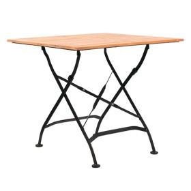 Tavolo pieghevole da esterno con listelli in rovere vera 88 for Tavolo da esterno pieghevole