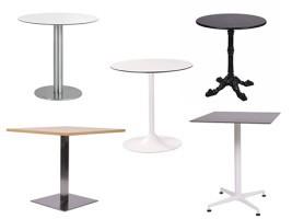 Tavolini Quadrati Bar.Tavoli Per Ristoranti E Bar Arredacontract