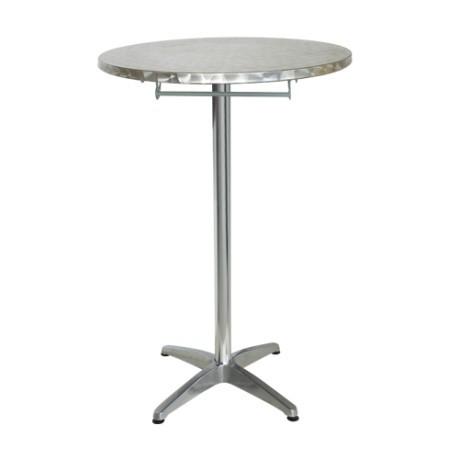 Tavolo Alto Pieghevole Da Bar Mirano In Alluminio Ed Inox